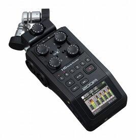 ZOOM ズーム / H6 BLK (ブラック・エディション) ハンディレコーダー【お取り寄せ商品】