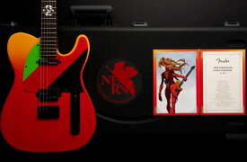 Fender / Made in Japan 2020 Evangelion Asuka Telecaster Rosewood Fingerboard Asuka Red《予約注文/納期別途ご案内》