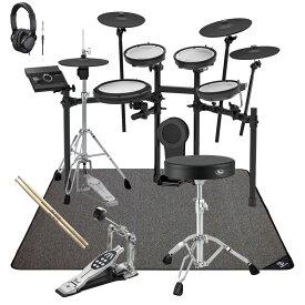 【あす楽対象】Roland 電子ドラム TD-17KVX-S PEARLスターターパック SELVAマットセット【YRK】