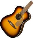 【タイムセール:28日12時まで】【在庫有り】 FENDER Acoustic / MALIBU PLAYER SUNBURST 【CALIFORNIA SERIES】 フェ…