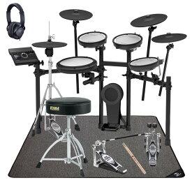 【在庫あります】Roland 電子ドラム TD-17KVX-S TAMAツインペダルスターターパックVer2 マットセット【YRK】