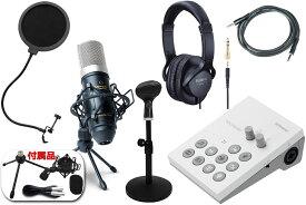 Roland / GO:LIVECAST -コンデンサーマイクMPM-1000J、ヘッドフォン、ポップブロッカー、卓上スタンド、AUXケーブル付の高音質配信フルセット- 数量限定!【YRK】