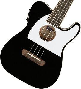 【在庫有り】 Fender / Fullerton Tele Uke Black フェンダー ウクレレ エレウク