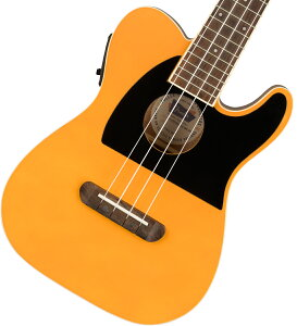 【在庫有り】 Fender / Fullerton Tele Uke Butterscotch Blonde フェンダー ウクレレ エレウク