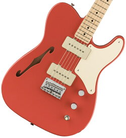 Squier / Paranormal Carbronita Telecaster Thinline Maple Fingerboard Fiesta Red【限定モデル】