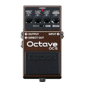 【在庫有り】 BOSS / OC-5 Octave ボス エフェクター OC5《特典つき!/+711713000》 《ご購入特典つき!/80-set12101》【YRK】
