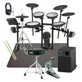 【あす楽365日】Roland 電子ドラム TD-17KVX-S TAMAスターターパック YAMAHA2.1chスピーカーとSELVAマットセット【YRK】