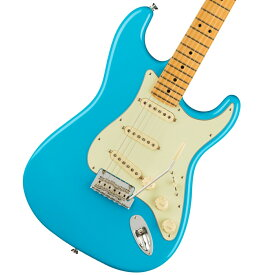 【在庫有り】Fender/ American Professional II Stratocaster Maple Fingerboard Miami Blue フェンダー《純正ケーブル&ピック1ダースプレゼント!/+2306619444005》【YRK】《純正ギグケースプレゼント!/+0885978806249》