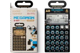 【在庫あり】TEENAGE ENGINEERING / PO-128 Mega Man (ロックマン)シンセサイザー【PNG】