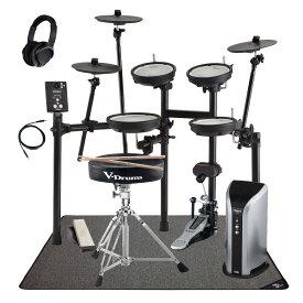 Roland / TD-1DMK 純正アクセサリーパックとSELVAドラムマット 電子ドラム専用スピーカーセット