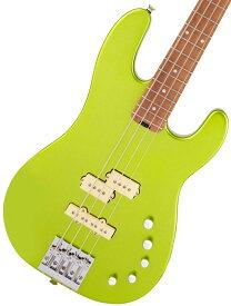 Charvel / Pro-Mod San Dimas Bass PJ IV Caramelized Lime Green Metallic シャーベル【お取り寄せ商品】