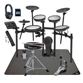 【在庫あります】Roland 電子ドラム TD-17KV-S ドラムアクセサリーパック SELVAマットセット【YRK】