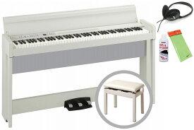 【あす楽対象】KORG コルグ / C1 Air WH (ホワイト) 【高低自在椅子セット!】デジタル・ピアノ《お手入れセットプレゼント:meinte2-set》【代引不可】【PNG】《数量限定:樹齢100年のオーク材使用 KRONOS ロゴ入り印鑑プレゼント!》