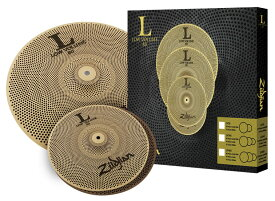Zildjian NAZLLV38 L80 Low Volume 38 Box Set ジルジャン ローボリューム シンバルセット (13HH/18CR)【WEBSHOP】【YRK】