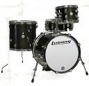 Ludwig LC179X016 BREAKBEATS BLACK GOLD SPARKLE ラディック ブレイクビーツ 小口径 4点シェルキット【送料無料】