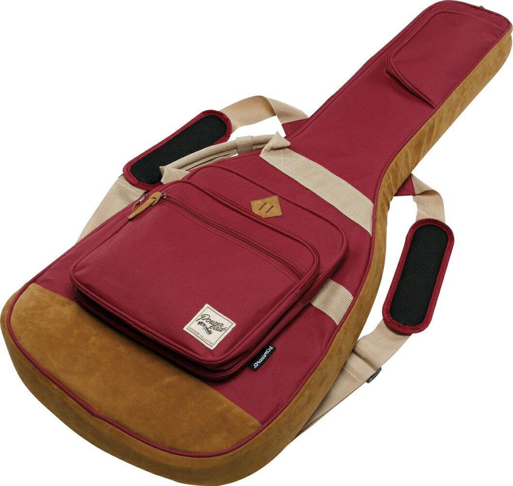 Ibanez アイバニーズ / IGB541-WR (Wine Red) POWERPAD Gig Bag エレキギター用ケース【お取り寄せ商品】