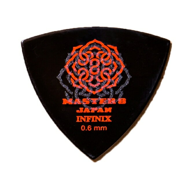MASTER 8 / INFINIX HardGrip Triangle 0.6mm IFS-TR060 1枚 ピック マスター8