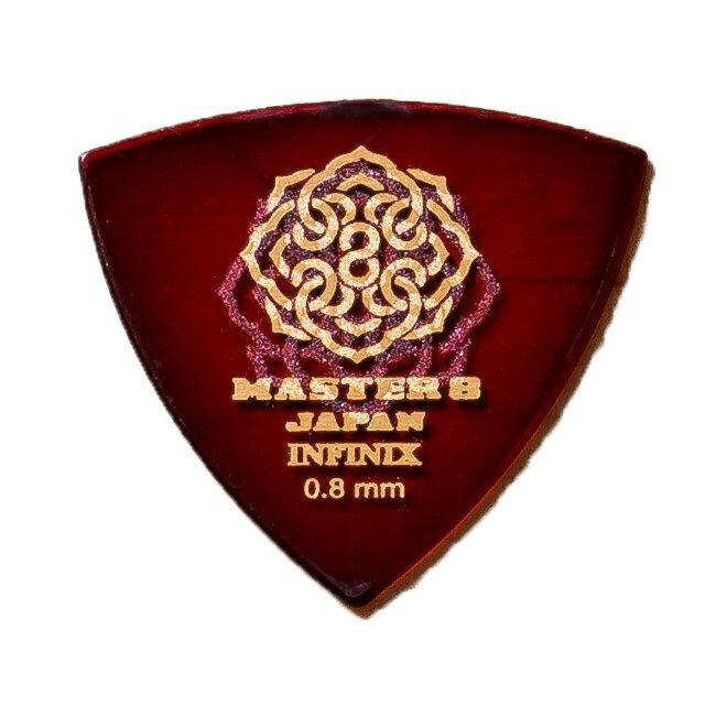 MASTER 8 / INFINIX HardGrip Triangle 0.8mm IFS-TR080 1枚 ピック マスター8