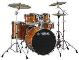 YAMAHA ステージカスタム ドラムセット SBP2F5S-HA(ハニーアンバー) 22BD/スタンダードセット+Sジルジャンシンバルセット【YRK】