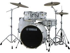 YAMAHA ステージカスタム ドラムセット SBP2F5S-PW(ピュアホワイト) 22BD/スタンダードセット+Sジルジャンシンバルセット【YRK】