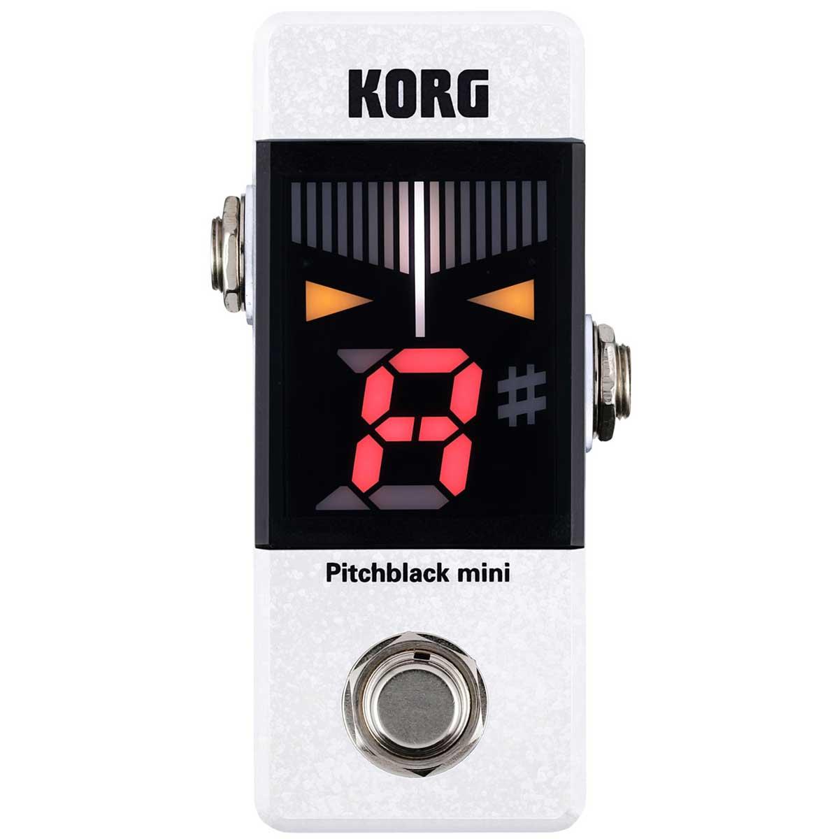 KORG コルグ / Pitchblack mini White PEDAL TUNER ピッチブラック ミニ ペダルチューナー【WEBSHOP】【YRK】