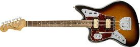 【タイムセール:29日12時まで】Fender / Kurt Cobain Jaguar Left Hand NOS 3-Color Sunburst 【YRK】《Fender/AM2019CAMP》《純正チューナーとピック12枚プレゼント!/+811179700》【新品特価】