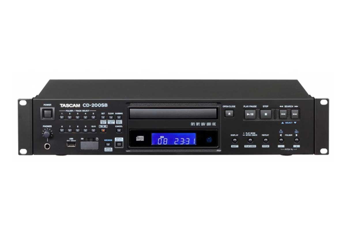 TASCAM タスカム / CD-200SB CDプレーヤー