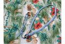 Daiking Corporation / DHRUS-6LBSB [6mm:ブルー] ハワイアン・リボンレイ・ウクレレストラップ【お取り寄せ商品】