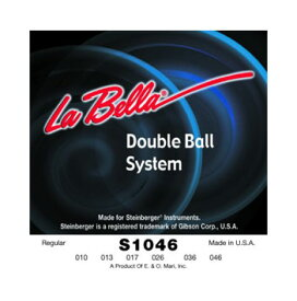 La Bella / S1046 Double Ball End System Regular 10-46 for STEINBERGER 【★お取り寄せ】