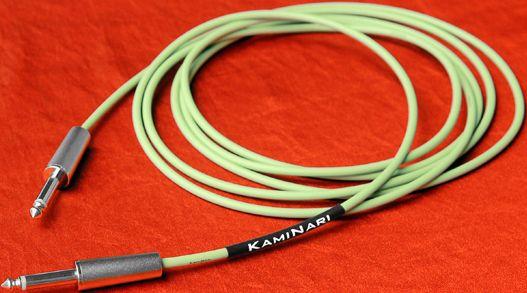 Kaminari (神鳴) / Mersey Beat 60's Cable K-MC3SS 3m SS Powder Olive 【★お取り寄せ】