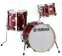 YAMAHA Bop-Kit SBP8F3CR ステージカスタム バーチ ドラムシェルキット 18BD 3点セット CRクランベリーレッド【送料無料】【yrk】