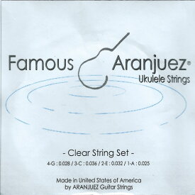 Famous Aranjuez / Clear String Set 25-36 【★お取り寄せ】