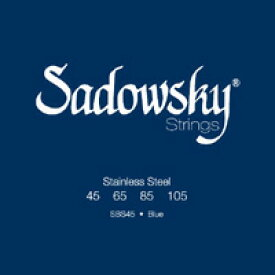 Sadowsky / Blue Label Normal Tention Stainless Steel SBS45 45-105 【★お取り寄せ】