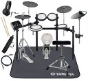 YAMAHA 電子ドラム DTX582KFS 3シンバル/PCY90AT ドラムマットDM1314付き スターターパック【送料無料】