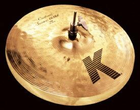 Zildjian K.Custom Session Hi-hats 14インチ (36cm) (Top+Bottom2枚1組)【YRK】【お取り寄せ商品】