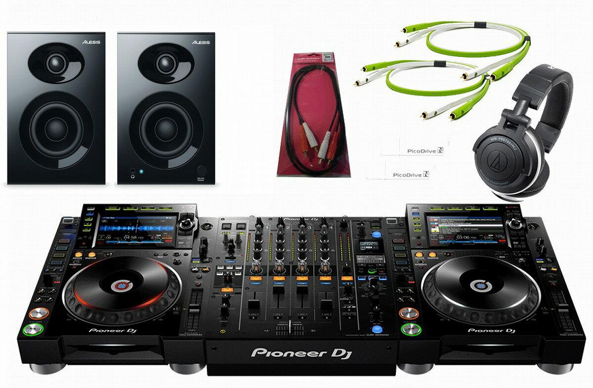 Pioneer パイオニア / CDJ-2000NXS2 × DJM-900NXS2 コンプリート DJセット【お取り寄せ商品】《Pioneer DJ オリジナルUSB Stick case Whiteプレゼント:811168000》
