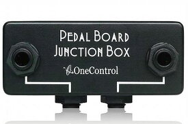ONE CONTROL / Minimal Series Pedal Board Junction Box 【ジャンクションボックス】