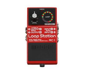 【ご購入特典つき!】【在庫有り】 BOSS / RC-1 Loop Station 【ルーパー】 ボス ループステーション RC1 【YRK】《/80-set12101》《特典つき!/+2307117130001》