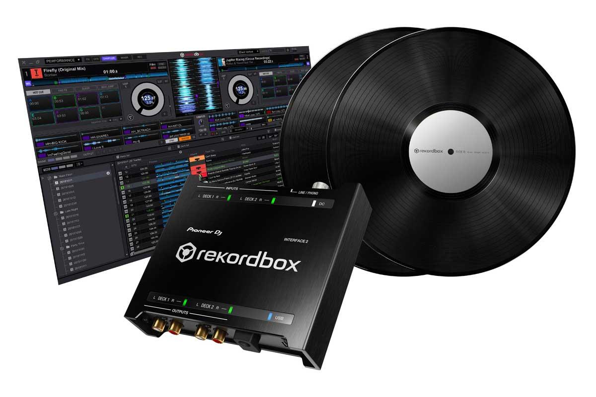Pioneer DJ パイオニア / INTERFACE 2 オーディオインターフェイス with rekordbox dj and dvs【お取り寄せ商品】
