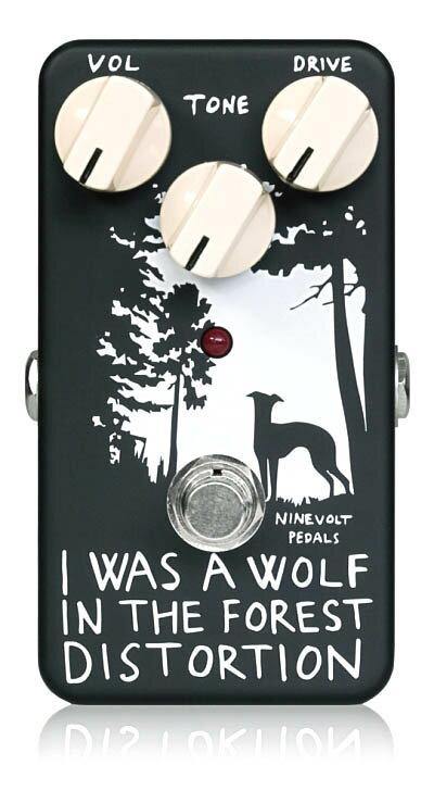 【タイムセール:30日12時まで】NINEVOLT PEDALS / I WAS A WOLF IN THE FOREST DISTORTION ナインボルトペダルス ディストーション【数量限定特価】