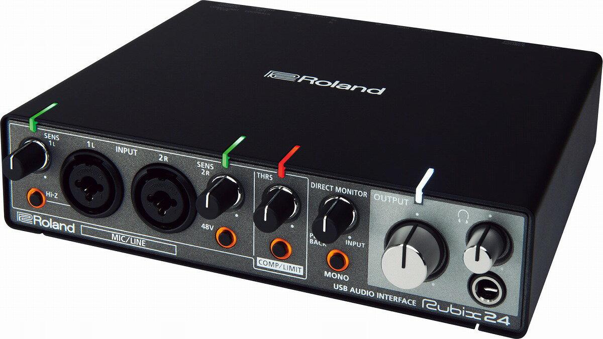 Roland ローランド / Rubix24 USBオーディオ・インターフェース【YRK】【1214P10】