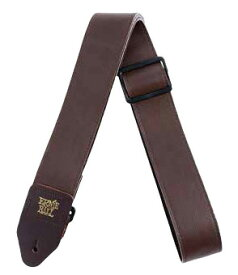 Ernie Ball / #4135 2 Tri-Glide Italian Leather Straps Brown アーニーボール ギターストラップ