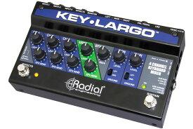 Radial ラディアル(ラジアル) / Key-Largo キーボードミキサー & パフォーマンスペダル【お取り寄せ商品】