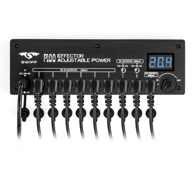 【タイムセール:28日12時まで】SWIFF / P100 Effector Adjustable Power スウィフ パワーサプライ【期間限定特価】