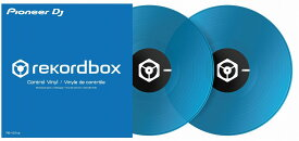 Pioneer DJ パイオニア / Control vinyl クリアブルー REKORDBOX DVS専用 (RB-VD1-CB)【PNG】