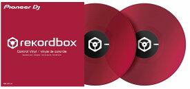Pioneer DJ パイオニア / Control vinyl クリアレッド REKORDBOX DVS専用 (RB-VD1-CR)【PNG】