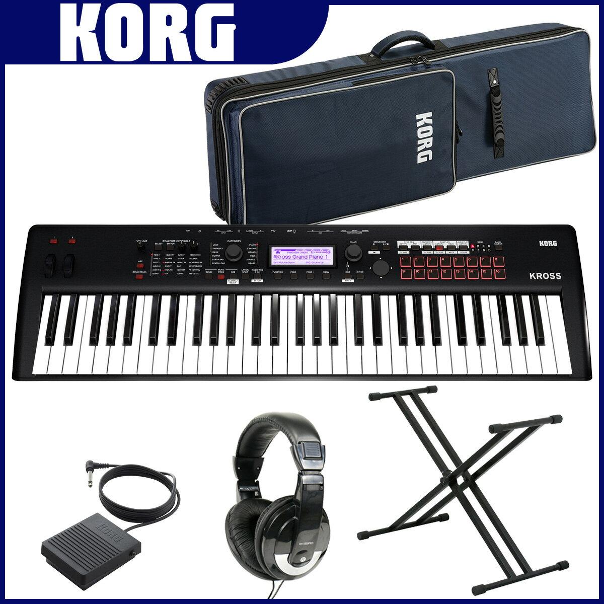 KORG コルグ / KROSS2-61 MB マットブラック【オプションセット!】【YRK】