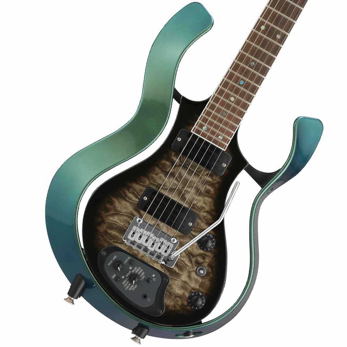 VOX / Modeling Electric Guitar Starstream Type 1-24 Metallic Green Frame with Black Burst/Qulted Maple Top