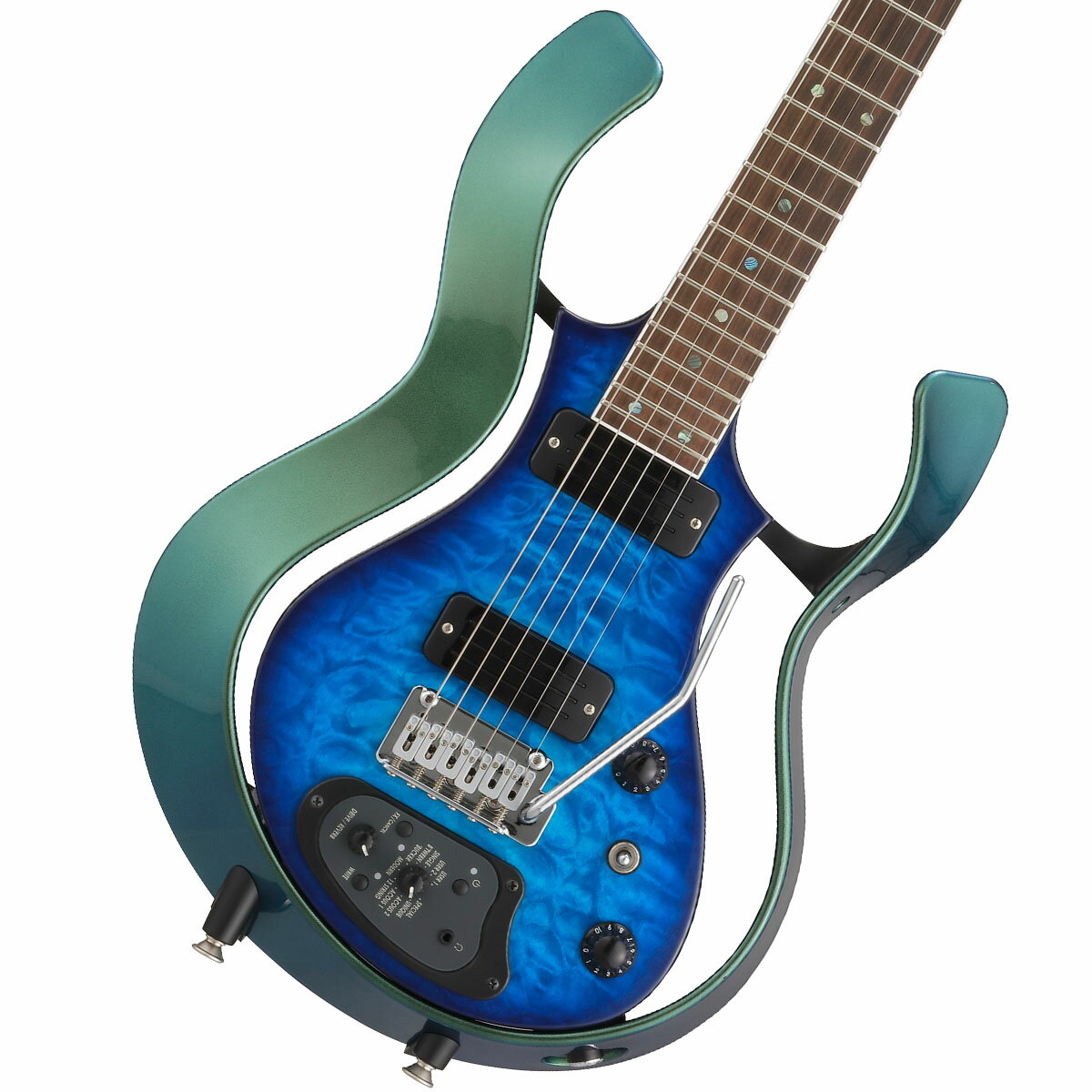 VOX / Modeling Electric Guitar Starstream Type 1-24 Metallic Green Frame with Trans Blue/Qulted Maple Top (VSS-1-24MGTL-Q)