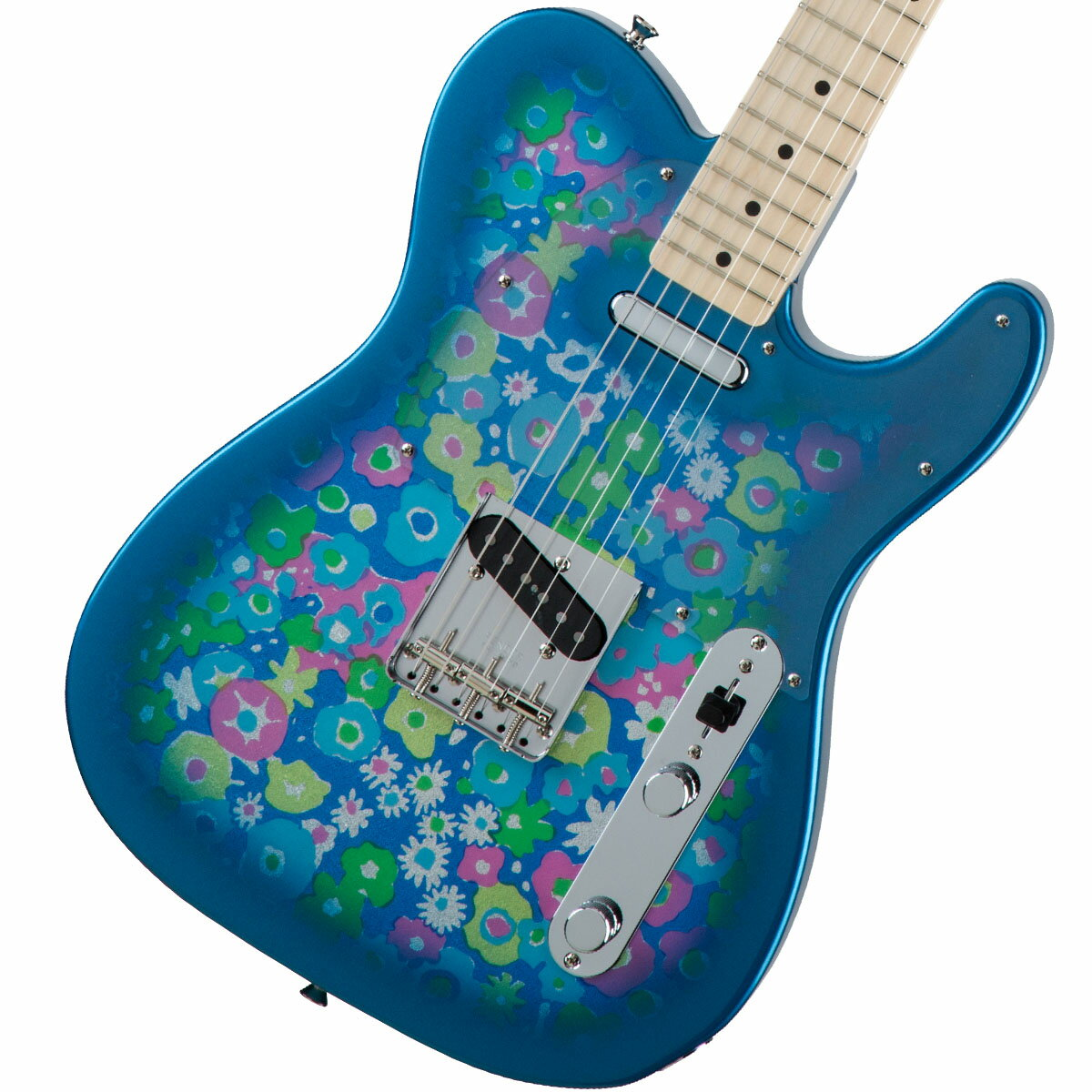 Fender / Made in Japan Traditional 69 Telecaster Maple Fingerboard Blue Flower《カスタムショップのお手入れ用品を進呈/+671038200》【YRK】